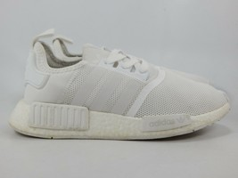 Adidas NMD R1 Triple White Size 5 M (Y) EU 37 1/3 Youth Running Shoes BA7245