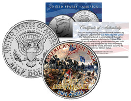 CIVIL WAR - 150th Anniversary * Battle of Spotsylvania * JFK Half Dollar... - $8.86