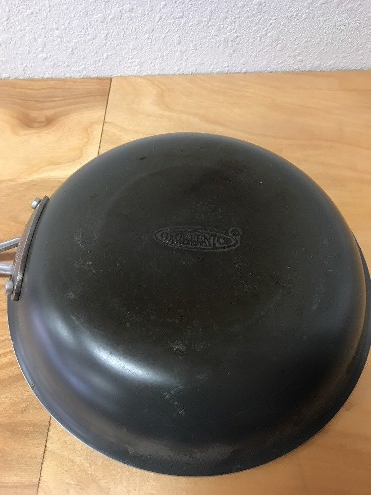 "Orgreenic Ceramic Green Non-Stick Fry Pan 10"" Camping"
