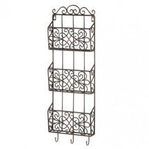 Vintage Charm Triple Wall Rack - $48.54