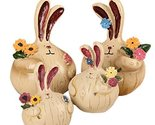 Childhood Memory Series/Lovely Rabbit Family/Resin Figurine Doll Decorations