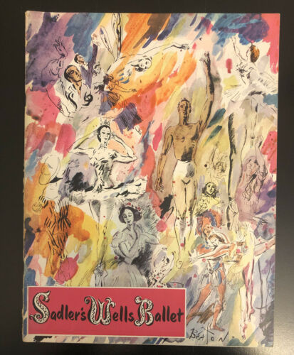 Primary image for Sadler's Wells Ballet Program 1949 Margot Fonteyn  Cecil Beaton  Sol Hurok