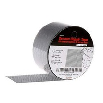 "by.RHO 2""x105"" Screen Repair Kit. 3-Layer Strong Adhesive & Gray_105"" - $14.08"