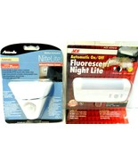 Lot of 2 Night Lights Ace & Amerelle Motion Activated Night Light New! - $7.83
