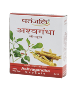 PATANJALI ASHVAGANDHA (CAPSULE) - 20 capsules - $11.67