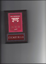 Chicago Bulls Banner Plaque Nba Champions Champs Basketball Nba Ny - $3.95
