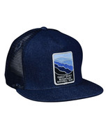 Great Smoky Mountains National Park Trucker Hat by LET'S BE IRIE, Denim ... - £17.26 GBP