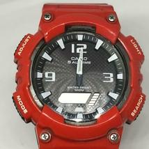 Casio Men's AQ-S810WC Analog-Digital Display Quartz Red Watch - $24.74