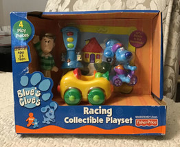 Fisher Price Blue's Clues RACING COLLECTIBLE Playset - NEW IN SEALED BOX... - $178.20