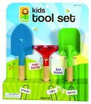 Toysmith Kid's 3-Piece Garden Tool Set - $10.40