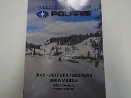 2015 2016 2017 Polaris 600 800 AXYS Snowmobile Service Repair Repair Man... - $148.45