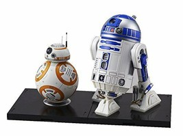 Star Wars BB-8 & R2-D2 1/12 scale plastic model japan import - $36.33