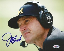 Jim Harbaugh Signed Photo 8X10 Rp Autographed ** Michigan Wolverines - $19.99