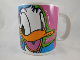 Disney DONALD DUCK Applause Coffee Cup Mug Vintage Korea Walt Disney RAR... - $12.86