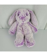 "Aurora Lavender Purple Frosted White Bunny Rabbit Easter Beans Soft 9"" - $24.74"
