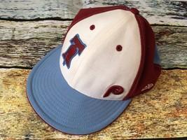 NEW ERA MLB Philadelphia Phillies Cooperstown Collection Hat Men's 7 3/8... - $15.83