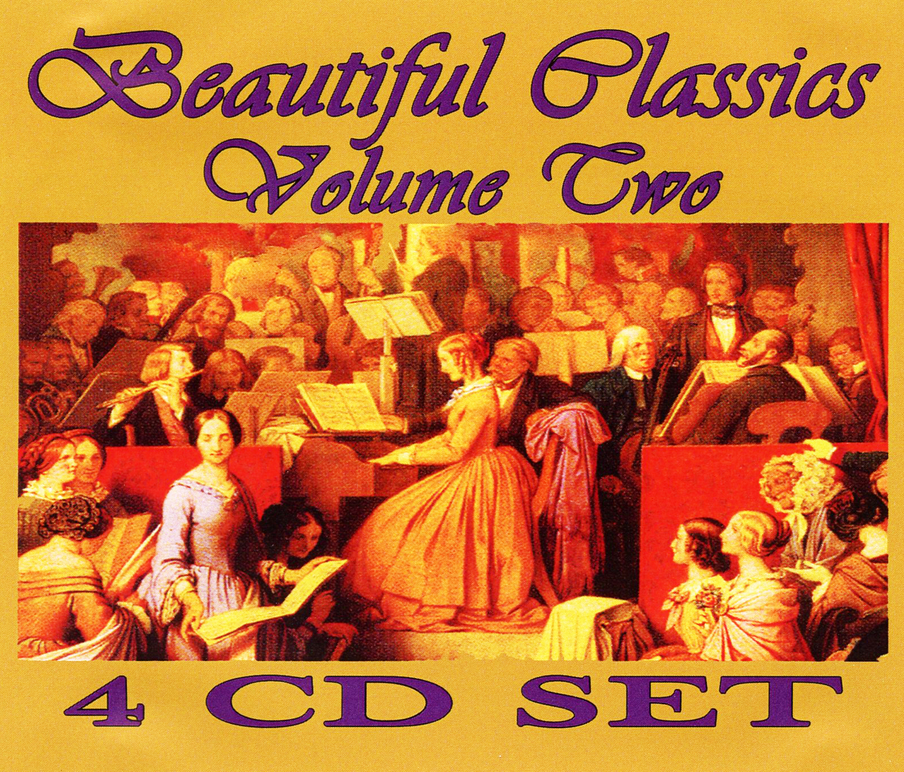Beautiful classics volume two   audio cd   4 cd by various artist
