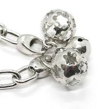 Silver 925 Bracelet, Spheres Mexican Bola, Bola , Roberto Giannotti SFA90 image 2