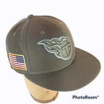 Tennessee Titans Salute To Service New Era 59Fifty Men's Low Crown Hat -... - $34.95
