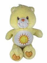 "Care Bears 2002 Yellow Funshine Bear 13""  TCFC Plush Stuffed Animal Suns... - $19.79"