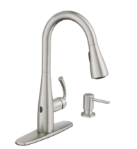Essie Touchless 1-Handle Pull-Down Sprayer Kitchen Faucet with MotionSense Wave - $189.00