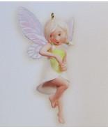 Hallmark 2008 Fairy Messengers Series #4 Lily Fairy Ornament QX7131 - $49.95