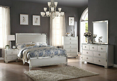 New transitional style platinum bedroom furniture 5 - Transitional style bedroom furniture ...