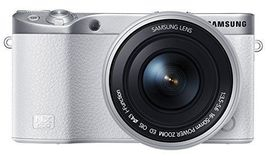 [SAMSUNG] NX500 28MPINTERCHANGEABLE LENS CAMERA WITH 16-50MM White image 3