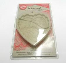 Wilton True Love Cookie Mold 2306-1015 Fondant Marzipan Molding Chocolate - $12.99