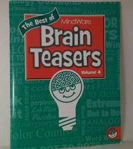 Puzzle Book Brain Teasers - age 10 and up - $3.17