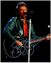 JON BON JOVI  Authentic  Original  SIGNED AUTOGRAPHED PHOTO w/ COA 5416 - $90.00