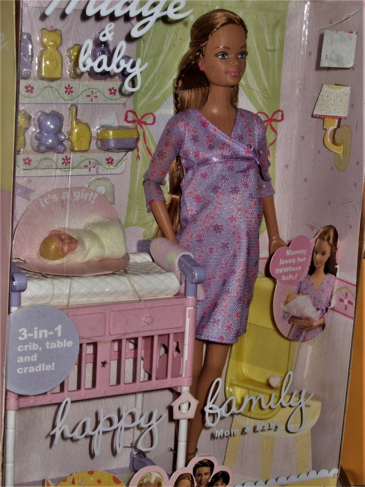 Primary image for Midge and Baby - Happy Family - Barbie By Matell