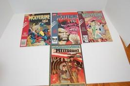 Lot of 4  Wolverine Saga Book 2,3,4 and Havoc & Wolverine  - £10.17 GBP