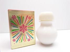 Avon Wishing Powder Sachet New? Full .9 oz Wish Bone Glass Jar Bottle Vt... - $7.99