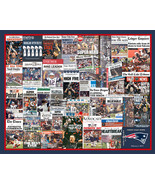 New England Patriots 2017 Super Bowl Newspaper Headline Collage Print.  - $19.99+