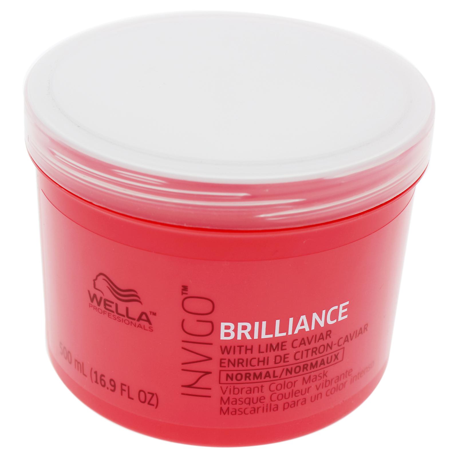 Wella  INVIGO Brilliance Mask for Fine Hair, 16.9oz