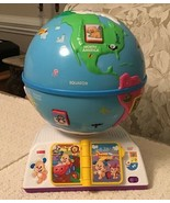 Fisher Price LAUGH & LEARN GREETINGS GLOBE - 100+ Sounds & Songs, DMC81 - $26.60