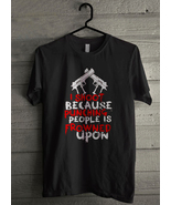 I Shoot Because Punching People Is Frowned Upon Men's T-Shirt - Custom (... - $19.12+