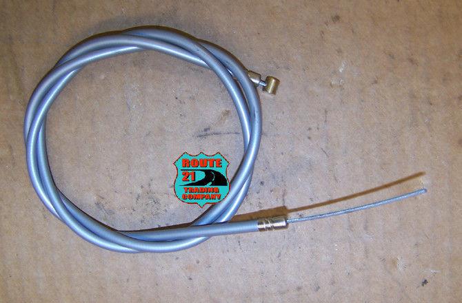 Vintage gray mini bike throttle cable Rupp Speedway Fox Bonanza etc