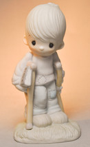 Precious Moments: He Watches Over Us All - E-3105 - Classic Figure - $15.83