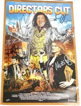 "DIRECTOR""S CUT Movie Poster, Signed Autographed By The Cast. 17"" x 11"" -... - $148.45"