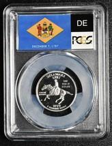 1999S 25¢ Delaware SILVER State Quarter Proof PCGS PR70DCAM Coin SKU C91 image 2