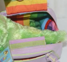 Webkinz HM434 Plush Green Caterpillar Purple Pet Carrier 9 Inches Age 3 plus image 3