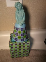 Avon Scottish Lass BOTTLE-- Belles Of The WORLD-- Empty --BOXED---FREE Ship - $17.28