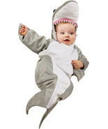 Warm Halloween Infant Bunting , Shark Costume , 0-6 MONTHS , Free Shipping - $32.00