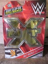 WWE Belt Buckle NXT CHAMPION Title Belt NEW Jakks Pacific Wrestling - $4.94