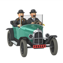 The Citroen Torpedo 5 CV 1/24 Voiture Tintin car Tintin & Land of Black Gold image 1