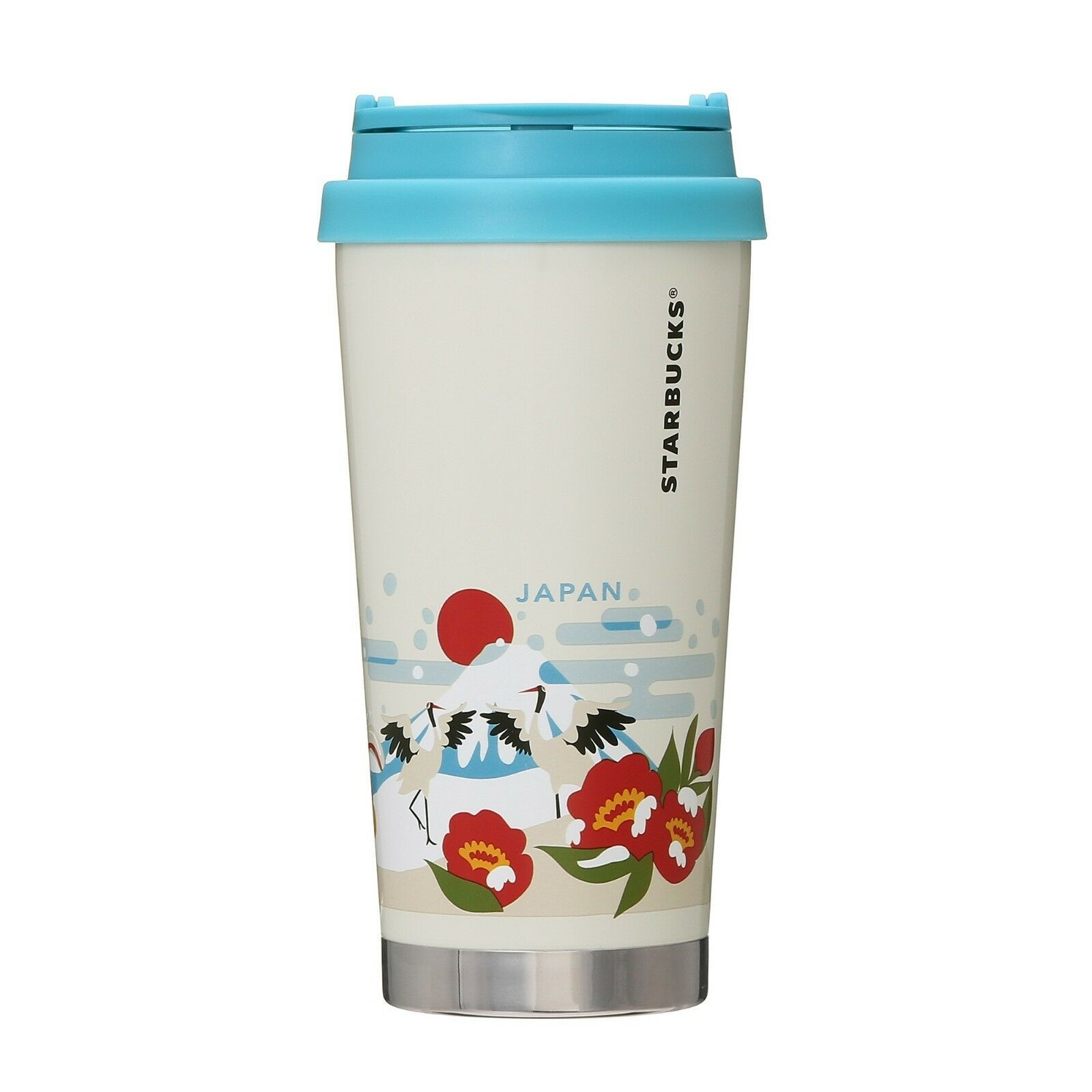 Starbucks 2018 You are here Stainless bottle winter Ver 473ml Japan Limited