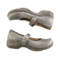 Dansko Taupe Brown Mary Janes Comfort Professional Shoes Womens 38 US 7.5 to 8 - $39.49