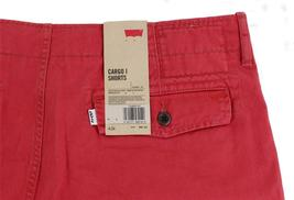 BRAND NEW NWT LEVI'S MEN'S COTTON CARGO SHORTS RELAXED FIT PINK 124630167 image 3